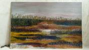 Пейзаж на болоте