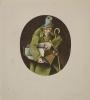 Старик с тростью. Иллюстрация к книге «Сказки и истории» Ганса Христиана Андерсена