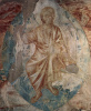 The frescoes of the Upper Church of San Francesco in Assisi, South cross nave: Apocalypse. Detail: Christ Pantocrator