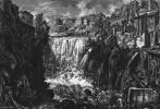 Джованни Баттиста Пиранези. Водопады в Тиволи