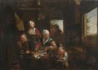 Давид Рейкарт. Крестьянская семья на кухне