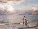Купальщицы на пляже