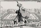 Жак Калло. Состязания на площади Санта Кроче во Флоренции