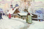 Иван Горюшкин-Сорокопудов. Былое. 1910 темпера. 47 x 76 см