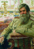 Portrait of a neurologist and psychiatrist V. M. Bekhterev