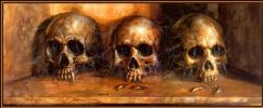 Боб Эгглтон. Три черепа
