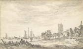 Ян ван Гойен. Побережье в Эгмонд-ан-Зее