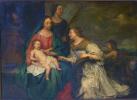 Mariage mystique de sainte Catherine et de sainte Barbe
