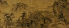 Го Си. Осень в долине реки. Фрагмент свитка.
