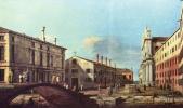 Джованни Антонио Каналь (Каналетто). Площадь и церковь иезуитов