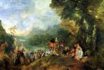 Антуан Ватто. Отплытие на остров Цитеру