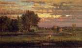 George Inness. Cleaning