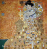 Portrait of Adele Bloch-Bauer I (based on the painting by G. Klimt)