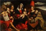 Джакомо Пальма Старший. Мадонна с Младенцем и святыми