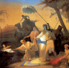 The finding of Moses by Pharaoh's daughter