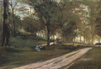 Поль Гоген. В лесу Сен-Клу