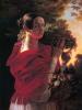 Портрет молодой женщины с корзиной