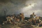 Привал арестантов. 1861