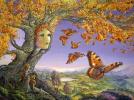 Дерево бабочек