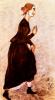 """Хромоножка. Эскиз костюма Марии Тимофеевны к спектаклю """"Николай Ставрогин"""""""