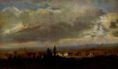 Иоган Кристиан Клаусен Даль. Пейзаж с грозой под Дрезденом