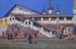 Евгений Александрович Казанцев. Spaso Preobrazhensky monastery. Solovki.