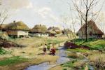 Весенний день на Украине