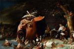 Йос ван Красбек. Искушение Святого Антония
