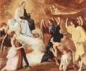 Цикл картин для монастыря конгрегации св. Иеронима в Гуадалупе. Бичевание св. Иеронима ангелами