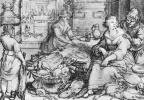 Хендрик Гольциус. Богатые кухня