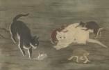 Цугухару Фудзита ( Леонар Фужита ). Кошки и мышки