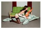 Без названия (Девушка с дельфином и обезьянкой)
