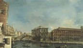 Венеция. Мост Риальто с палаццо деи Камерлинги