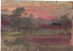 Arkady Pavlovich Laptev. Sunset