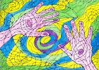 Wind in sahara