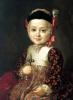 Портрет Алексея Бобринского в детстве