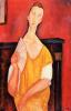 Женщина с веером (Луня Чеховска)