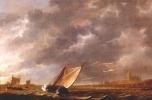 Альберт Кёйп. Маас в Дордрехте в шторм