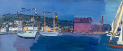 Raoul Dufy. 14 July in Deauville