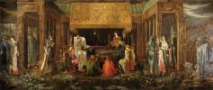 King Arthur's Last Dream in Avalon