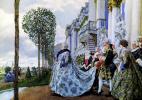 Empress Elizabeth Petrovna in Tsarskoe Selo