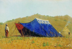 Vasily Vasilyevich Vereshchagin. The Chinese tent