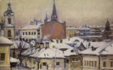 Vasily Ivanovich Surikov. View of the Kremlin