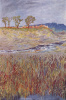 Landscape on the Unstrut river