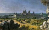 Мишель-Анж Уасс. Вид на монастырь Эскориал