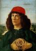 Портрет молодого человека с медалью Козимо Медичи Старшего
