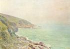 Alfred Sisley. Fog on the coast of Wales