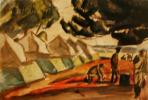 Александр Васильевич Шевченко. «Лагерь Астраханского полка» 1910-е