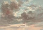 Джон Констебл. Облака. Штормовой закат