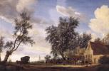 Саломон ван Рёйсдал. Остановка в таверне